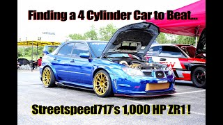 Finding a 4 Cylinder Car to Beat Streetspeed717's ZR1!