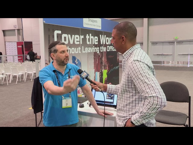 Snappers TV: #NABShow Video Entèvyou