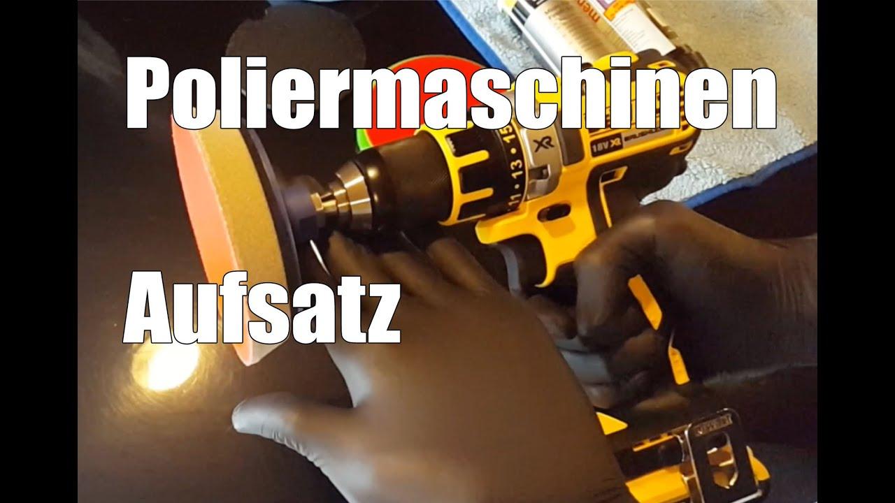 83metoo poliermaschinen aufsatz für bohrmaschine von rotweiss - youtube
