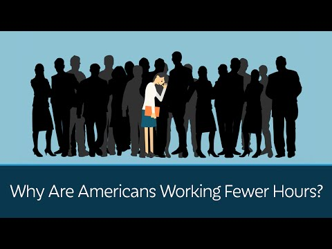 Why Are Americans Working Fewer Hours?