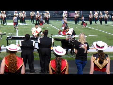 Caney creek high school MPB Halftime show 2015 10-9-15