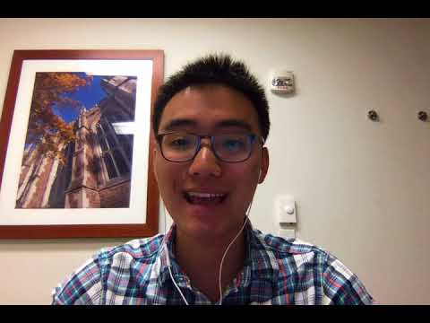 USC MS, Business Analytics Admissions Video – Mark Chen