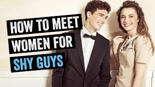 How To Meet Women: 1 Simple Technique For Shy Guys