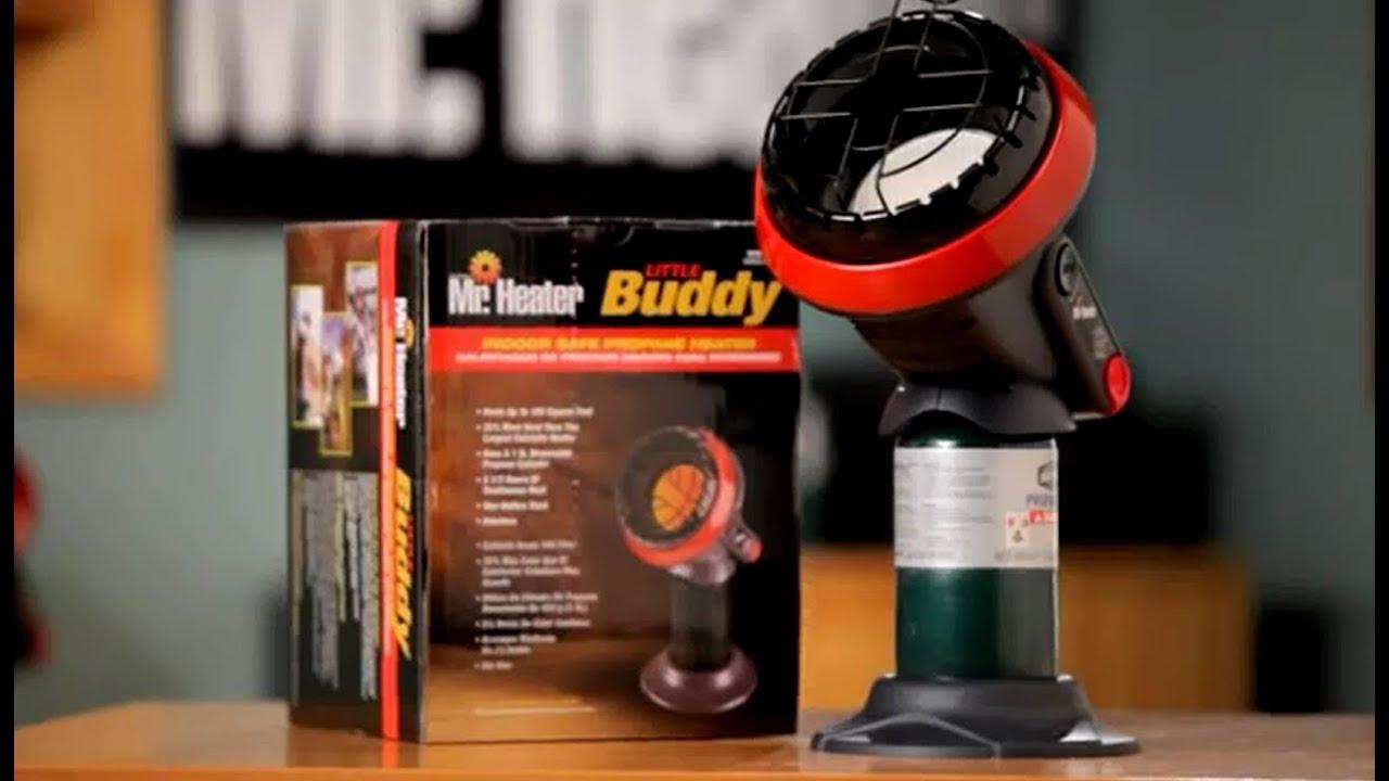 Mr Heater F215100 Mh4b Little Buddy Propane Heater