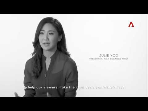 Julie Yoo, Presenter, Asia Business First on Channel NewsAsia