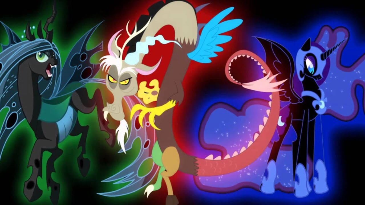 Love Magic Hd Live Wallpaper My Little Pony Friendship Is Magic Villains Together