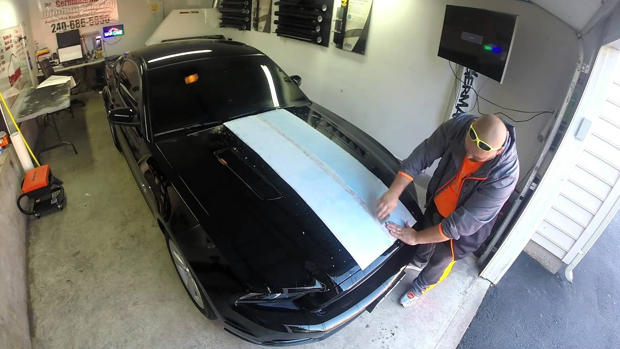 2014 Mustang Gt 5 0 Racing Stripes Install Youtube