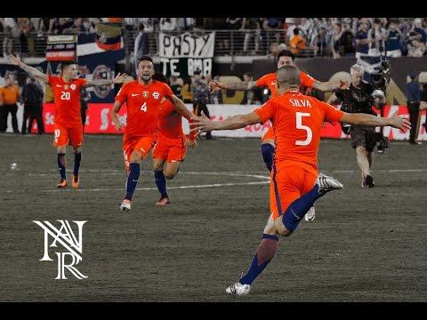 Superstar ( Pitbull Official Copa America Song) Selección Chilena - Bicampeones!