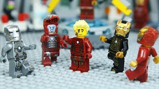 Lego IRON MAN's ARMOR was Stolen by Robber