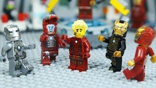 Gambar cover Lego IRON MAN's ARMOR was Stolen by Robber