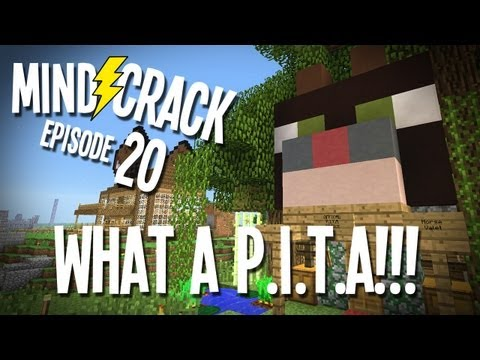 """Mindcrack Ep 20 - """"What a P.I.T.A!!!"""" Minecraft Survival Multiplayer"""