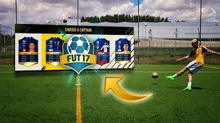 FUT DRAFT REMATES CHALLENGE!!!! FOOTBALL vs FIFA 17