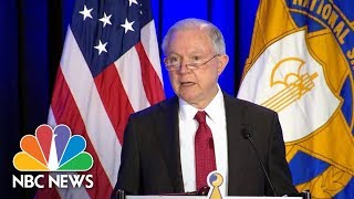 AG Jeff Sessions: Sheriffs Central To Law Enforcement's 'Anglo-American Heritage' | NBC News