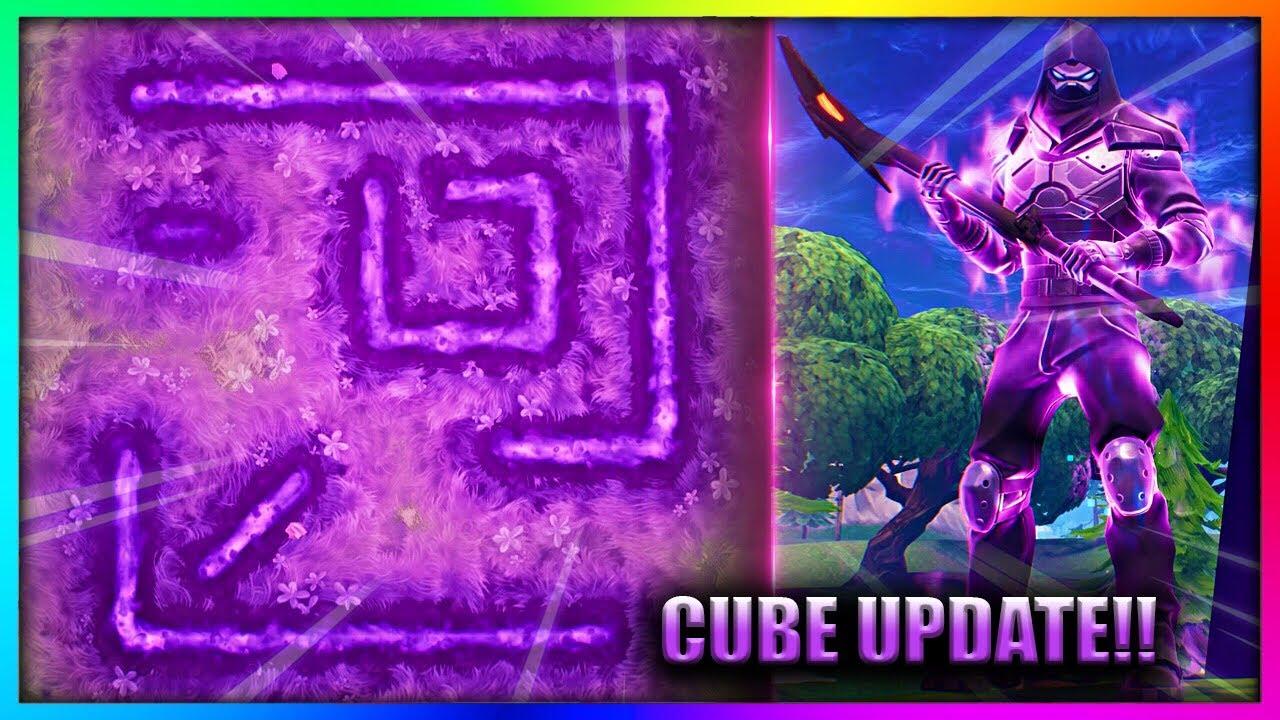 new cube burns rune symbol on the ground in fortnite battle royale - symbols fortnite