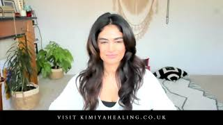 Behind the Scenes: Watch a live healing session with Kimiya Healing