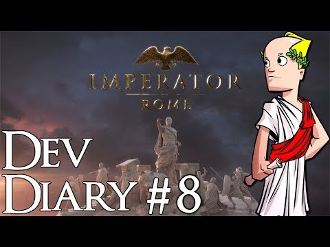 Comet Sighted! | 8 | | Imperator: Rome Developer Diary #8 | Trade and Trade Goods