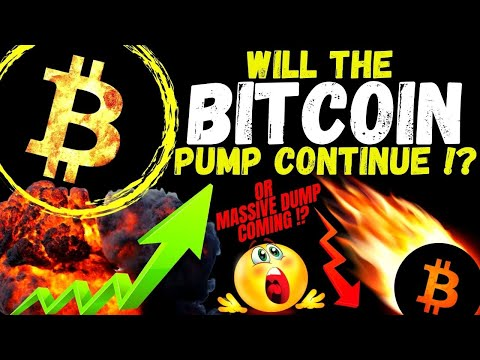 CAN BITCOIN PUMP CONTINUE or NOT? BTC TA and CHARTS Crypto price prediction, analysis, news, trading
