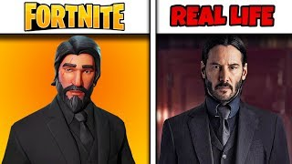 Top 10 Fortnite Characters in Real Life (Fortnite Skins in Real Life)