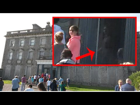 Fantasma de una niña aparece en una mansion embrujada en Irlanda