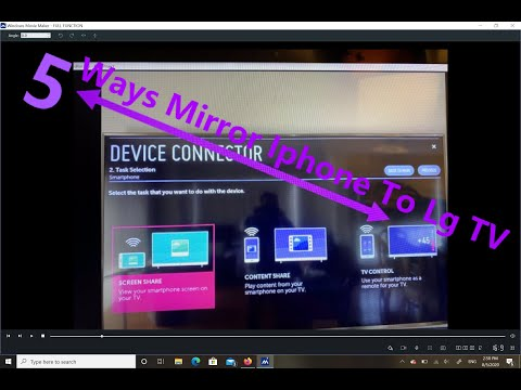 How To Mirror Iphone To  LgTV (Without Apple TV