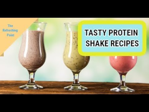 Healthy And Tasty Protein Shake Recipes - Brown Rice, Pea And Hemp Protein Benefits