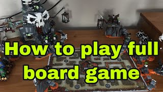 How To Play The Full Ninjago Board Game
