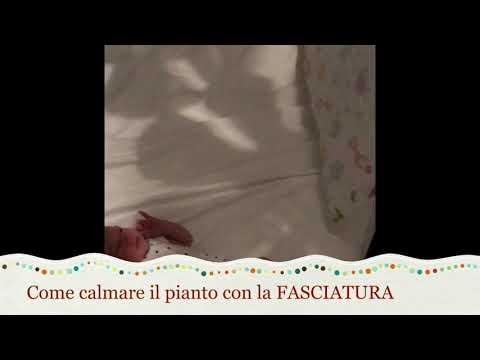 Calmare il pianto del neonato con la fasciatura