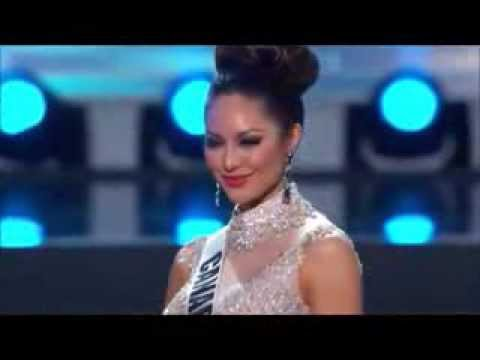Riza Santos in Preliminary Competition at Miss Universe 2013