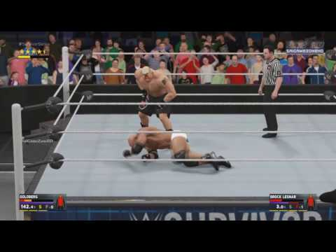 WWE Survivor Series 2016 - Goldberg VS...