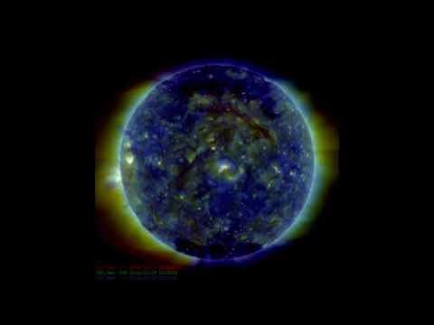 SDO Footage of major incoming solar activity 2/06/2018