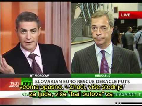 Nigel Farage United States of Europe insane politics(Serbian subtitle) .mp4