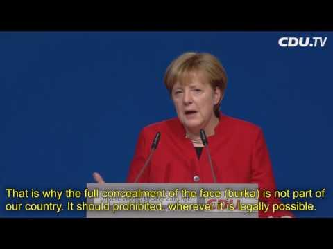 [English subtitles] Angela Merkel seeks fourth term as Germany's chancellor