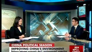Studio interview:Wang Tao on environmental protection presser