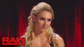 Charlotte schwört, Sasha Banks bei Hell in a Cell Schmerzen zuzufügen: Raw, 17. Oktober 2016