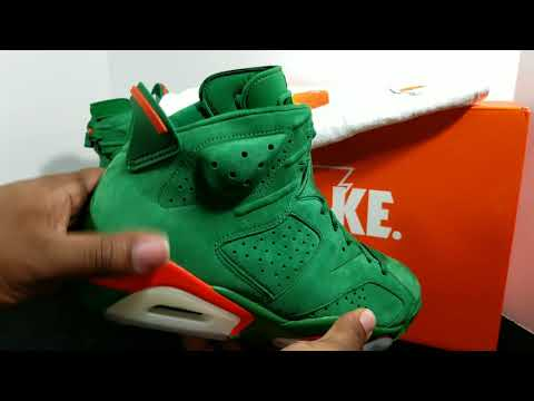"First Look: Air Jordan Retro 6 NRG ""Green Gatorade"" Retail Review"
