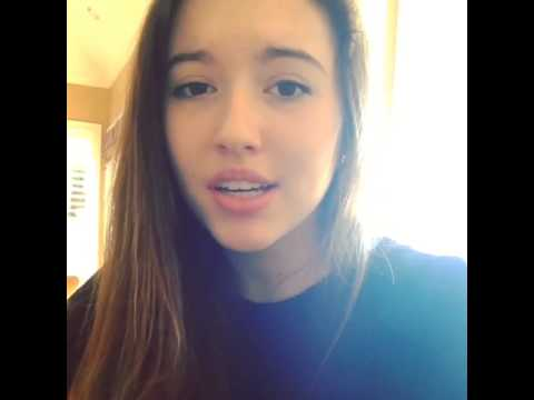 Alyssa Light Singing Counting Stars By One Republic On Instagram