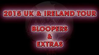 Food Challenge BLOOPERS & EXTRAS - Randy's UK & Ireland Tour 2015