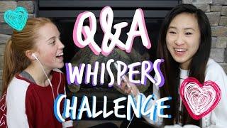 Q&A WHISPER CHALLENGE | TutorialsByA Thumbnail