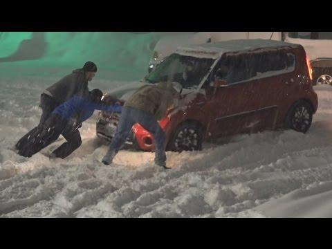 12-14-16 Bend, OR Major Accidents, Slide Offs, Traffic Struggles
