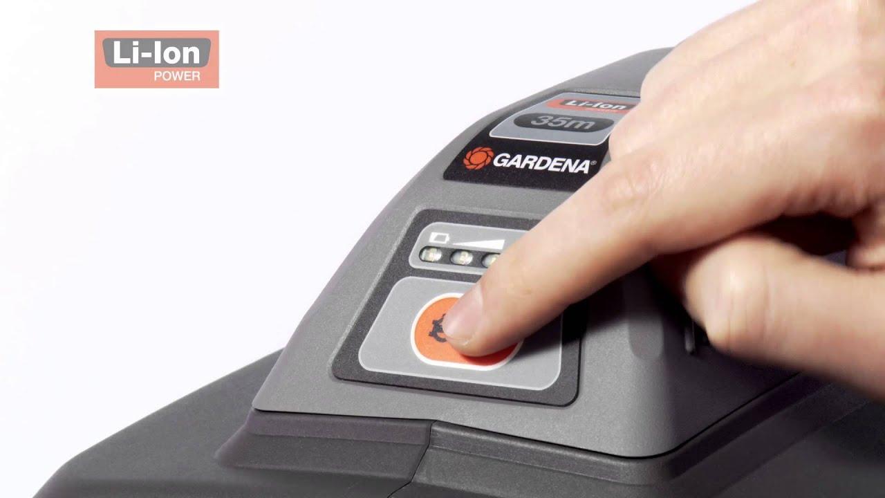 gardena wand schlauchbox 35 roll up automatic li 8025 20. Black Bedroom Furniture Sets. Home Design Ideas