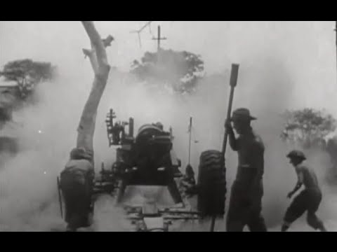 Burma / Myanmar Mandalay Captured Fort Dufferin Siege and Fall March 1945 Footage