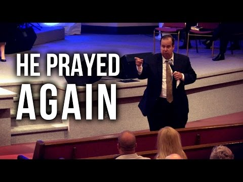 """He Prayed Again"" – Scott Graham"