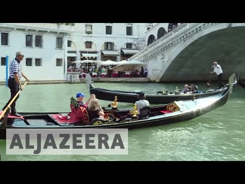 Anti-tourism sentiment grows in overcrowded Venice