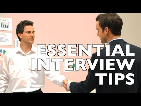20 Tips to Ace Any Job Interview!