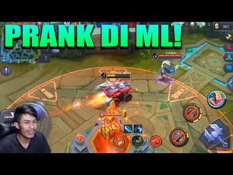 PRANK PAKE JOHNSON DI MOBILE LEGEND! - Mobile Legend Indonesia