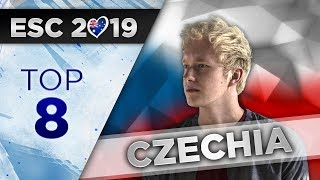 Top 8 - Czech Republic Eurovision 2019 (Eurovision Song CZ)