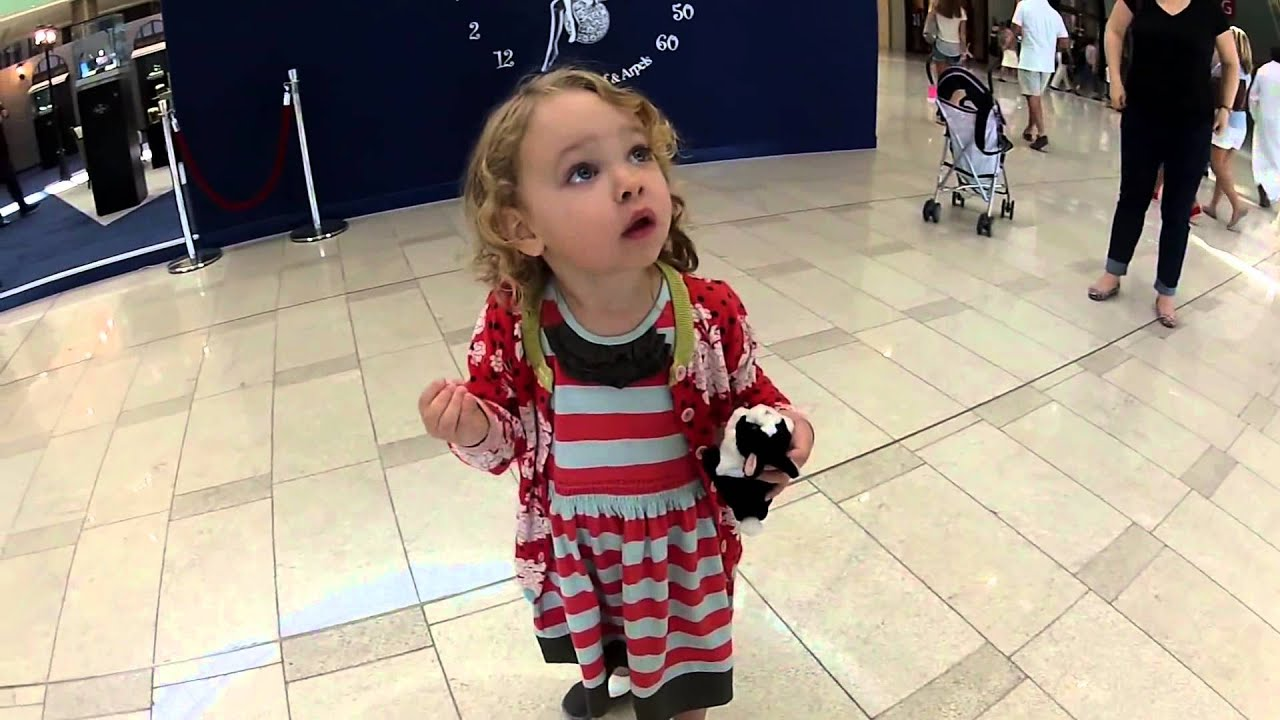 The First Time Little American Girl Hears The Sound Of Moslem - Little girls reaction to seeing her parents clearly for the first time is adorable