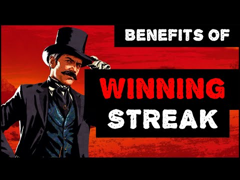 RDR2 Benefits Of WINNING STREAK CARD!!!