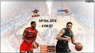 NBL 14th Oct | Perth Wildcats Vs New Zealand Breakers - National Basketball League