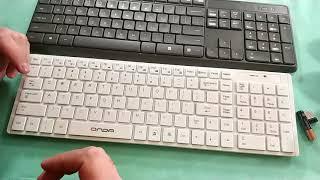 Комплект клавиатура и мышь Logitech MK235 из магазина JD ZTD#399